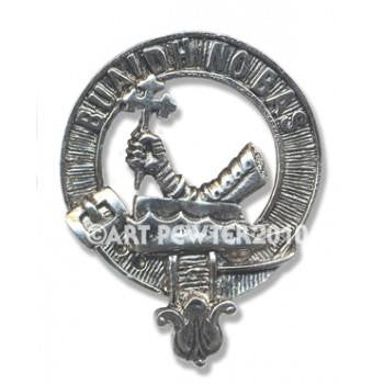 MacDougall Clan Crest Badge/Brooch | Scottish Shop