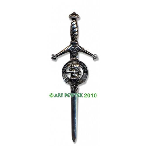 MacDuff Clan Crest Pewter Kilt Pin | Scottish Shop