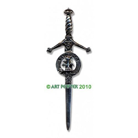 MacEwan Clan Crest Pewter Kilt Pin | Scottish Shop