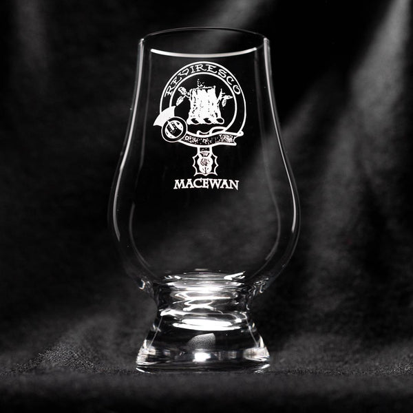 MacEwan Clan Glencairn Whisky Glass | Scottish Shop