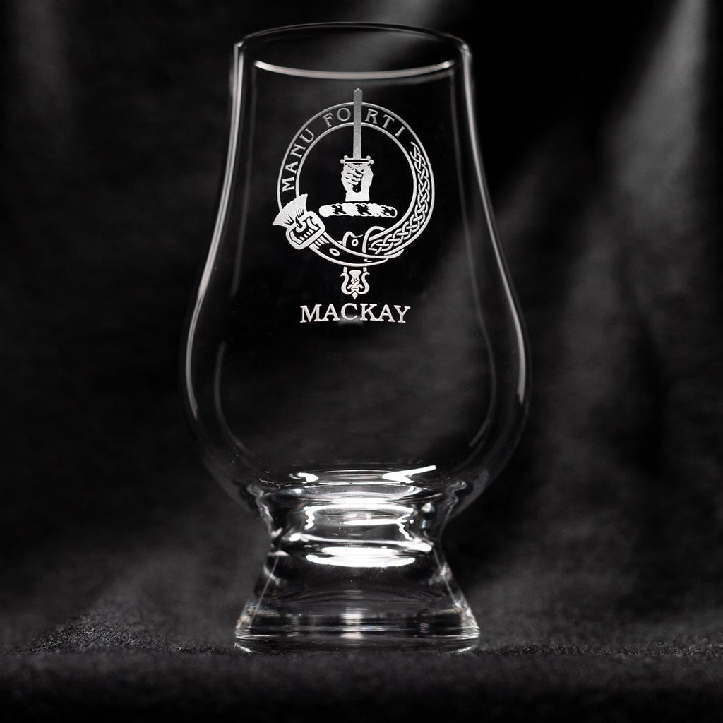MacKay Clan Glencairn Whisky Glass | Scottish Shop