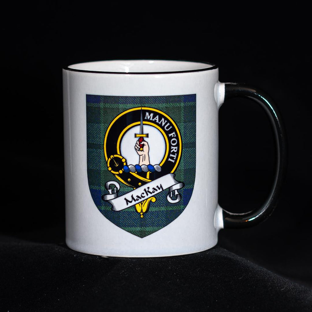 MacKay Clan Crest Mug | Scottish Shop