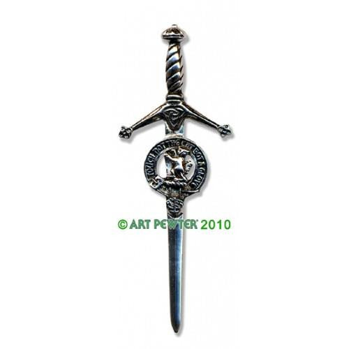 MacIntosh Clan Crest Pewter Kilt Pin | Scottish Shop