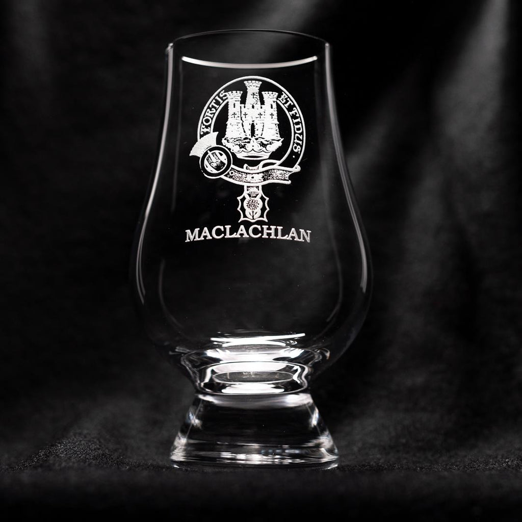 MacLachlan Clan Glencairn Whisky Glass | Scottish Shop