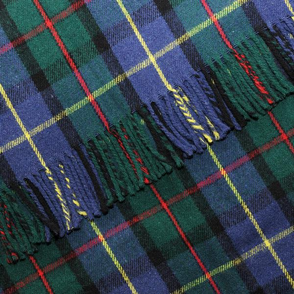 MacLeod Harris Tartan Blanket, Throw, Rug | Scottish Shop