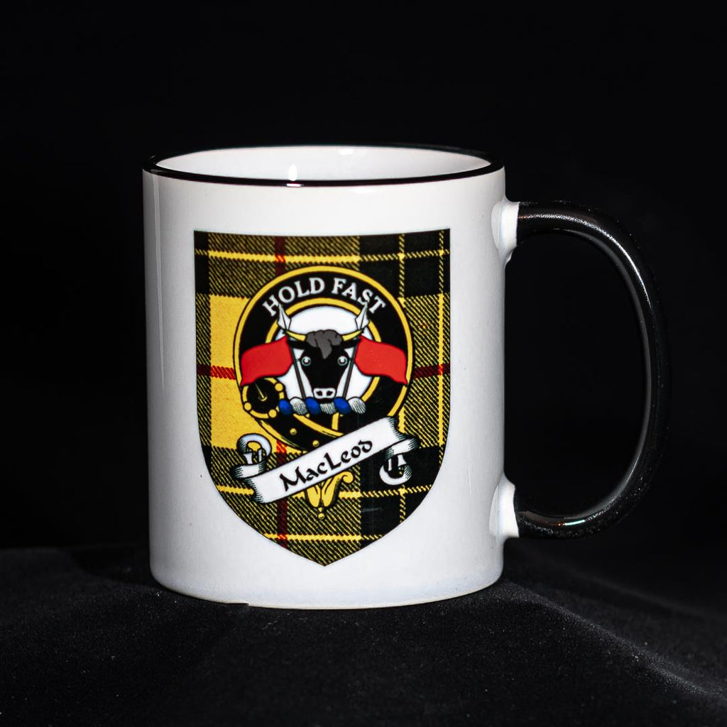 MacLeod Clan Crest Mug | Scottish Shop