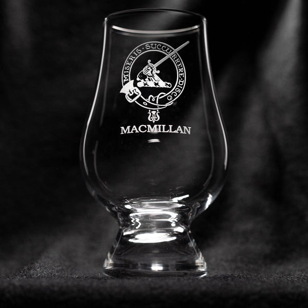 MacMillan Clan Glencairn Whisky Glass | Scottish Shop