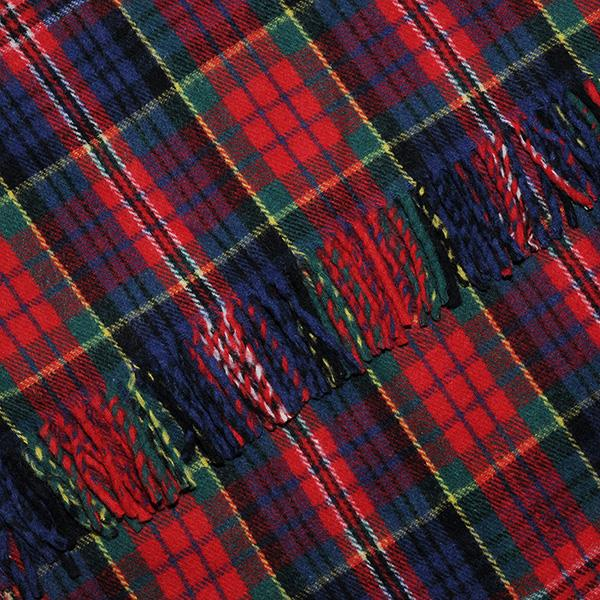 MacPherson Tartan Blanket, Throw, Rug | Scottish Shop
