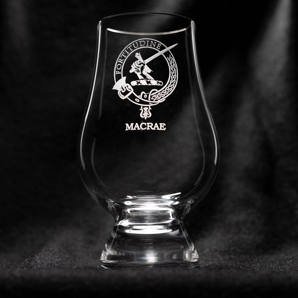 MacRae Clan Glencairn Whisky Glass | Scottish Shop