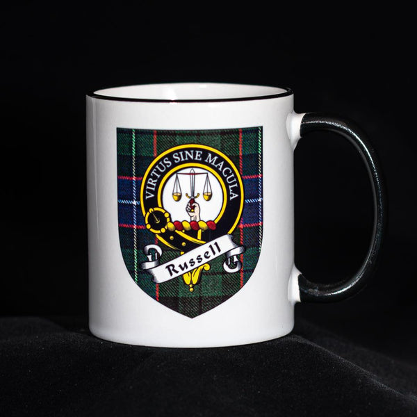Russell Clan Crest Mug | Scottish Shop