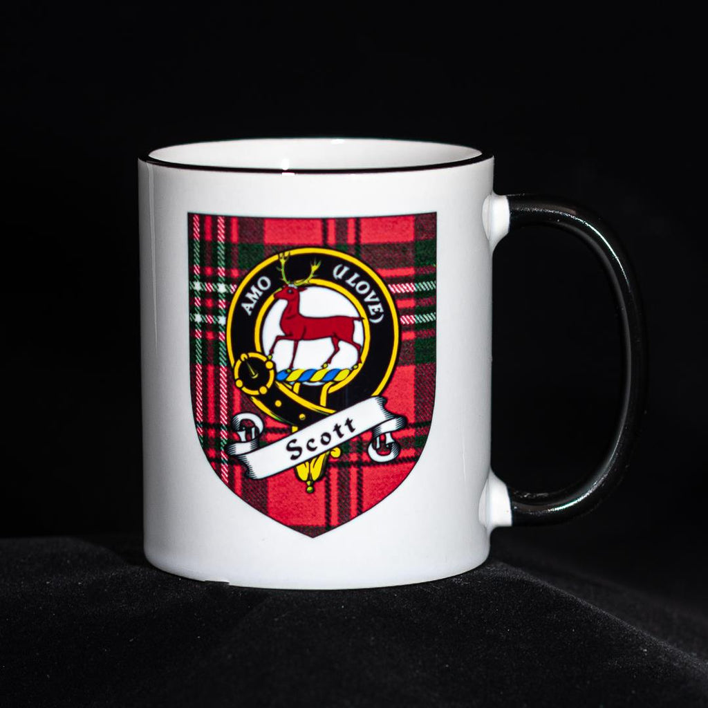 Scott Clan Crest Mug | Scottish Shop
