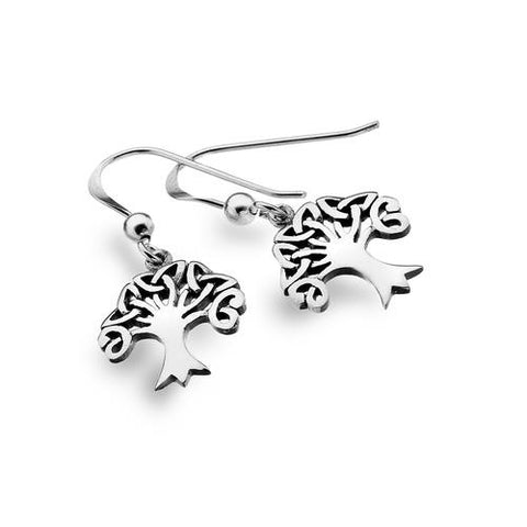 Sterling Silver Tree of Life Earrings | Scottish Shop
