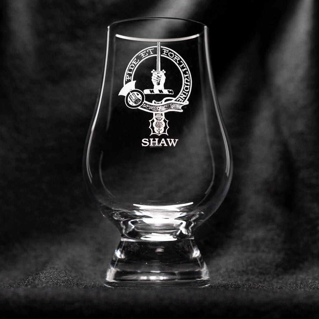 Shaw Clan Glencairn Whisky Glass | Scottish Shop