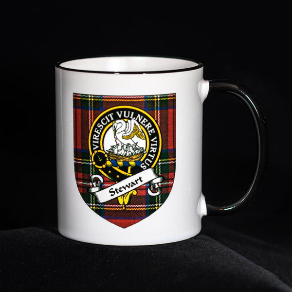 Stewart Clan Crest Mug | Scottish Shop