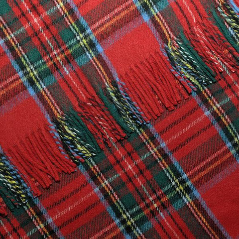 Royal Stewart Tartan Blanket, Throw, Rug | Scottish Shop