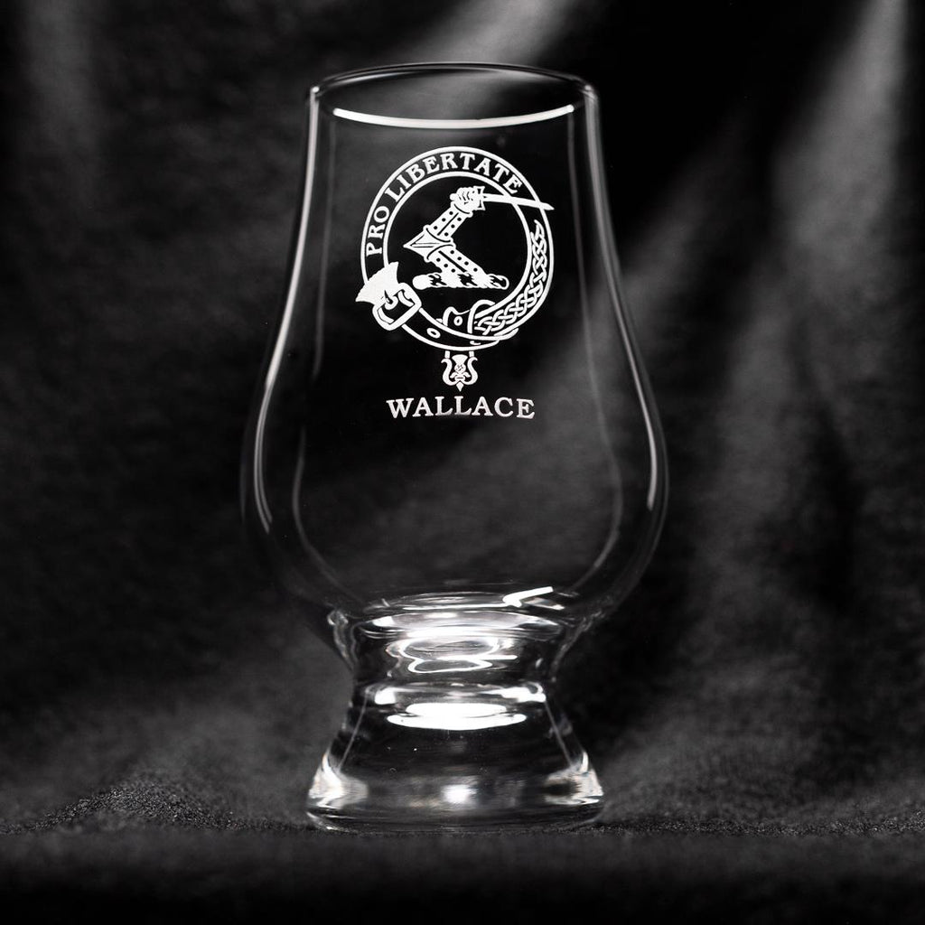 Wallace Clan Glencairn Whisky Glass | Scottish Shop