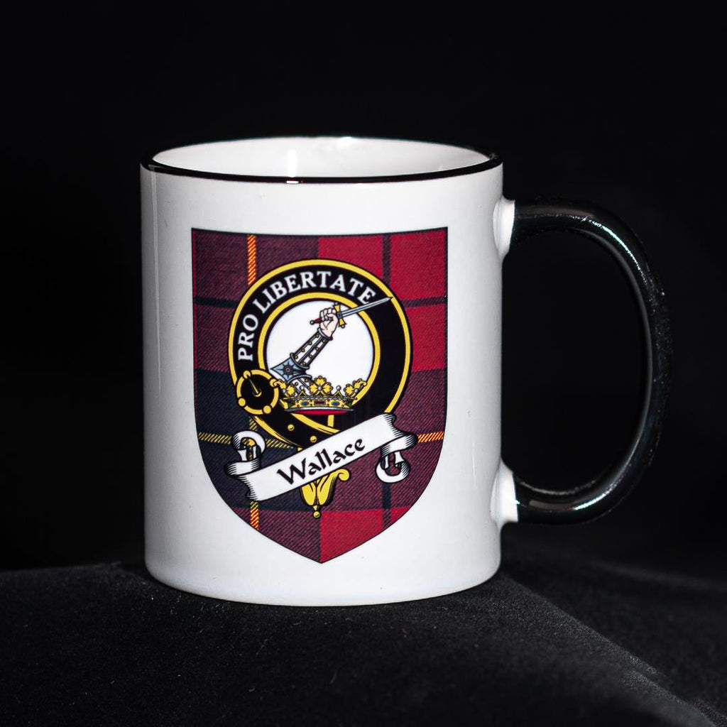 Wallace Clan Crest Mug | Scottish Shop