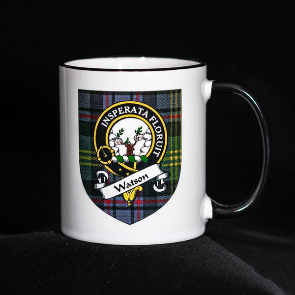 Watson Clan Crest Mug | Scottish Shop