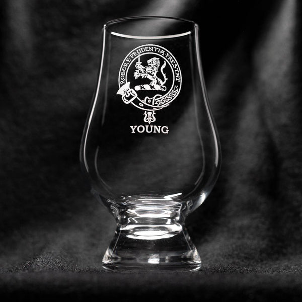 Young Clan Glencairn Whisky Glass | Scottish Shop