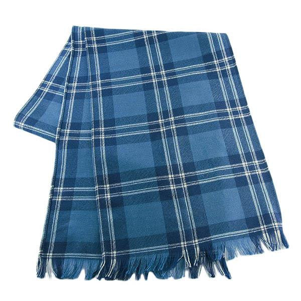 MacKinnon Tartan 100% Wool Scarf | Scottish Shop