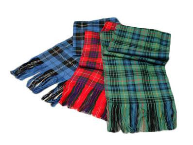 Morrison Red Modern Ladies Tartan Sash | Scottish Shop