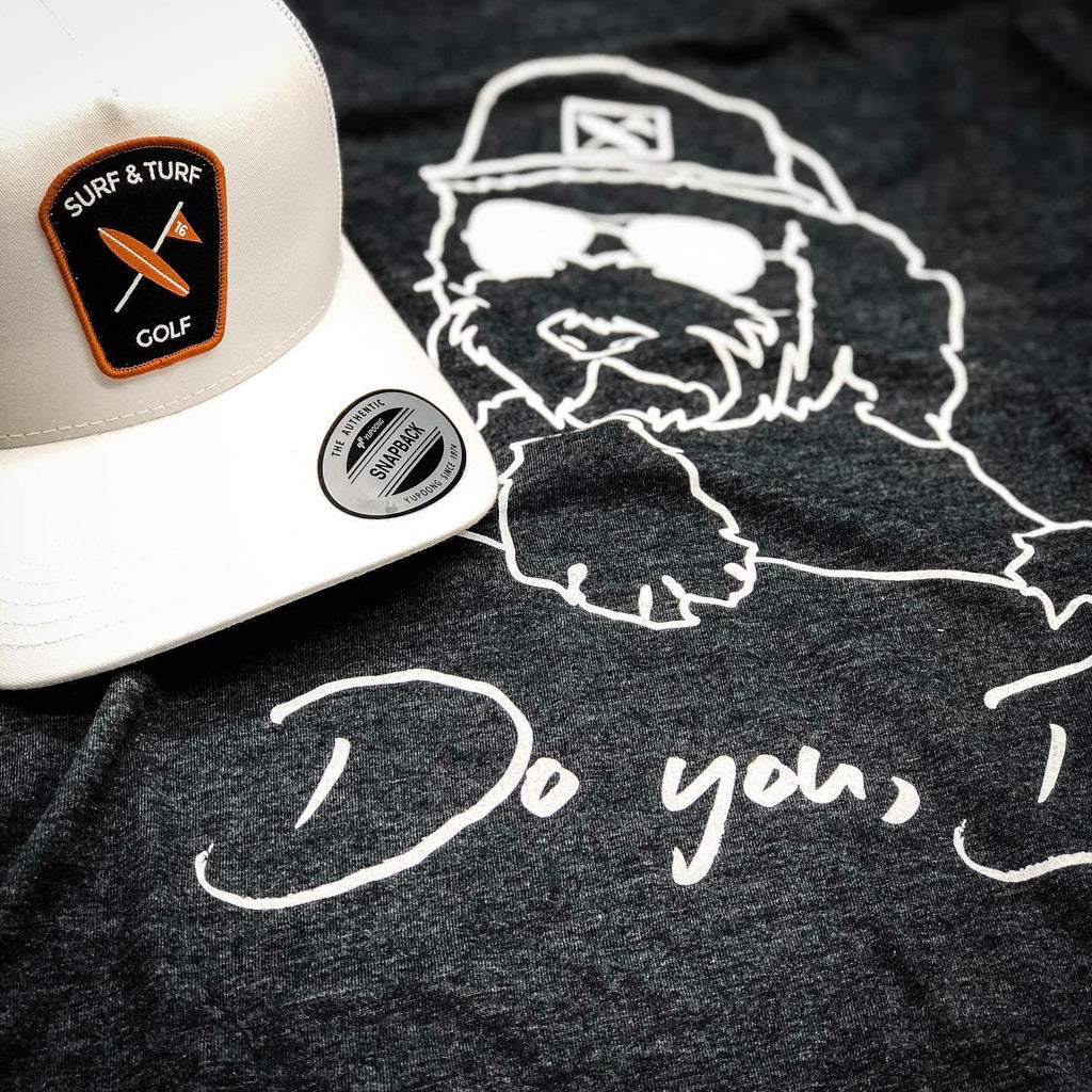 Do You, Dawg Tee Charcoal - Surf & Turf Golf