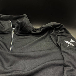 Monterey Pullover - Black - Surf & Turf Golf