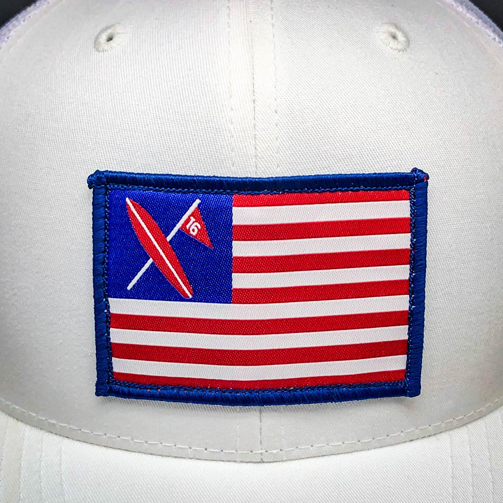Freedom Patch Trucker FOH - Surf & Turf Golf