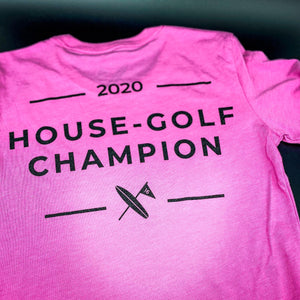 Ladies House-Golf Champion Pink - Surf & Turf Golf