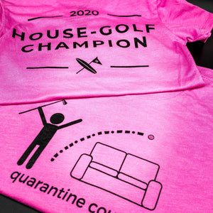 Ladies House-Golf Champion Pink