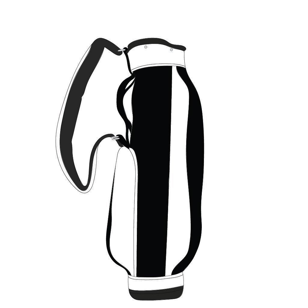 S&T Golf Jones Original Carry Bag - Black