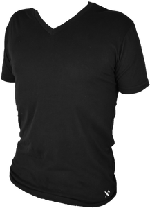 Miramar V neck - Black - Surf & Turf Golf