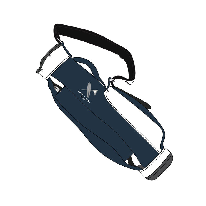S&T Golf Jones Original Carry Bag - Navy