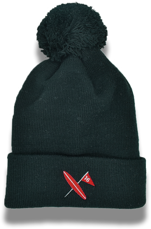 Red Rider Ball Beanie