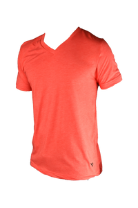 Miramar V Neck - Scarlet - Surf & Turf Golf