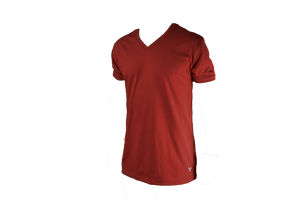 Miramar V Neck - Crimson - Surf & Turf Golf