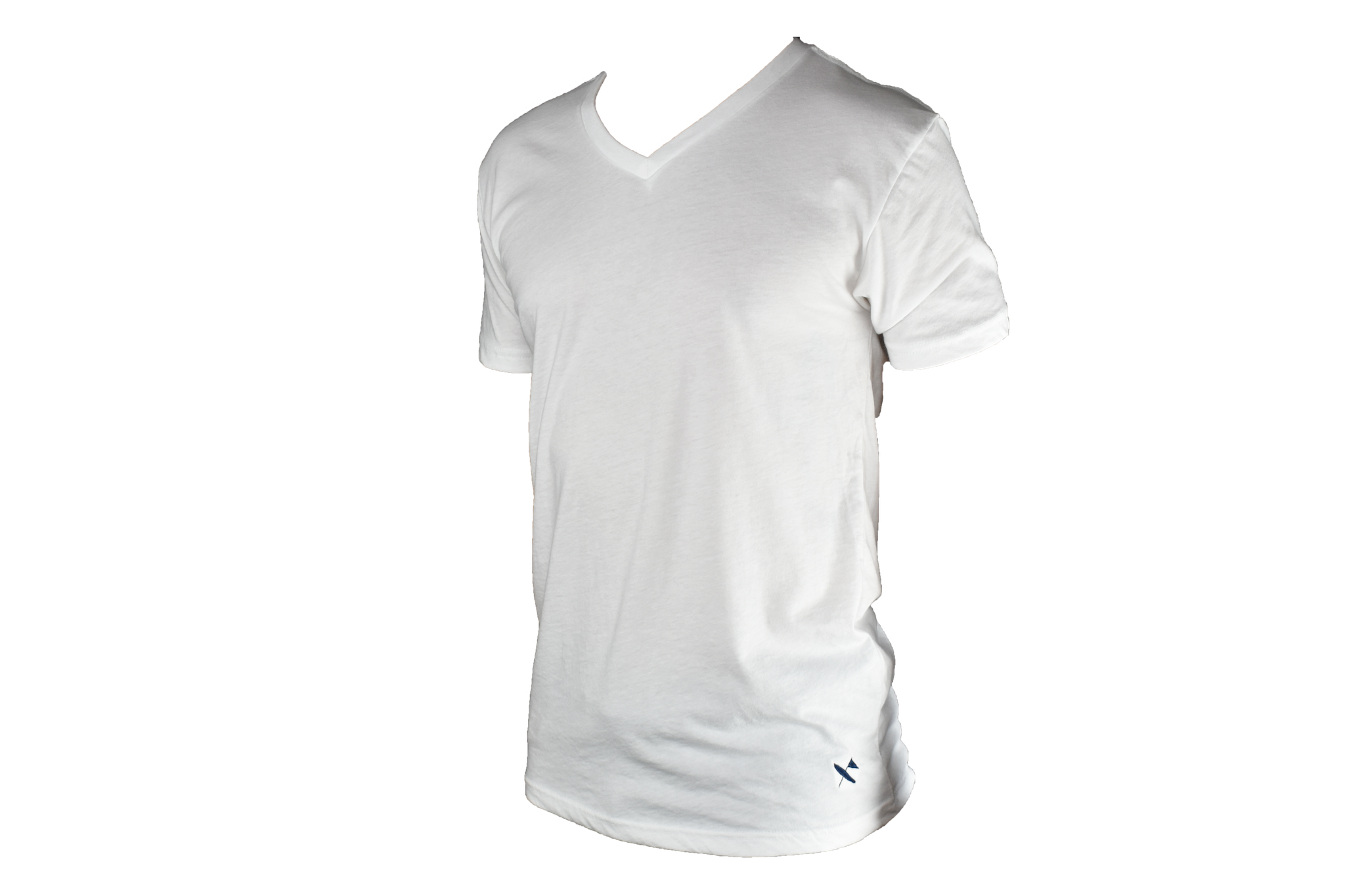 Miramar V Neck- White