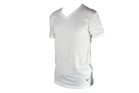Miramar V neck - White