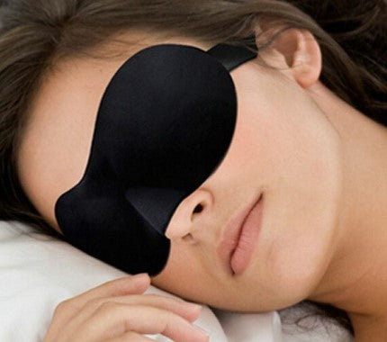 Soft blindfold sleeping mask