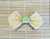 Double Layered Colorful Lemon Broach