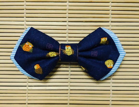 Double Layered Owl Bow Tie
