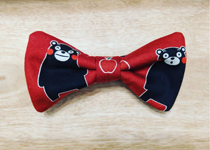 Cute Bear Hair Bow Red