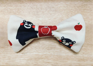 Cute Bear Tie White