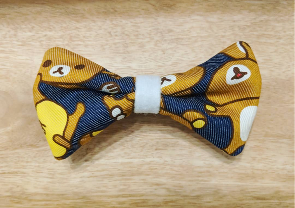 Cute Japanese Bear Character Bow Tie