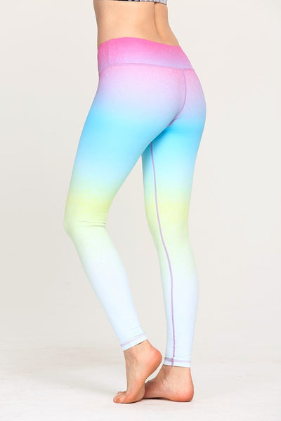 Ombre Athletic Leggings
