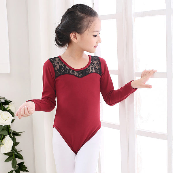 Kid Leotard With Lace Back