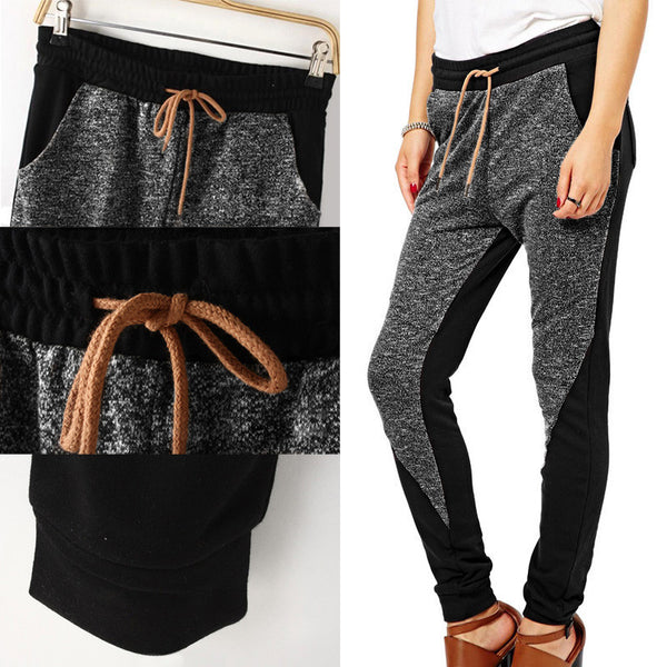 Two Toned Jogger Pants