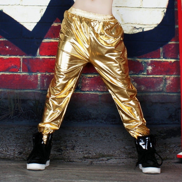 Gold Joggers