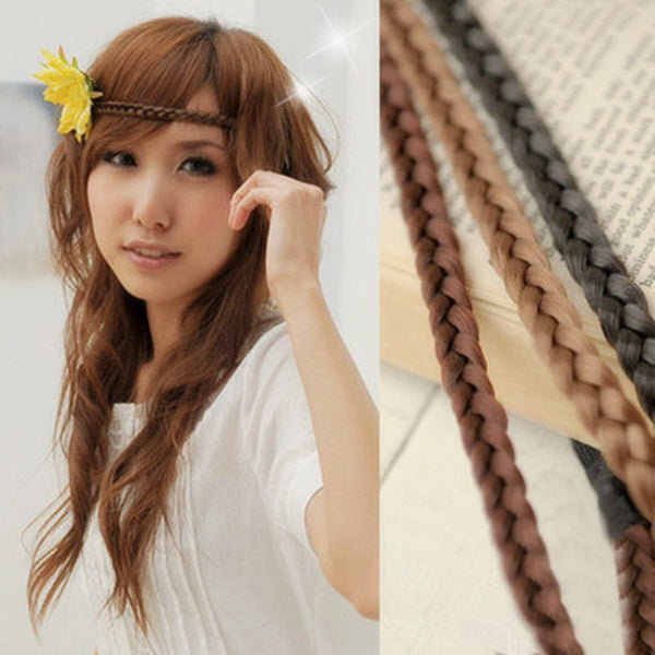 Braided Synthetic Hair Band