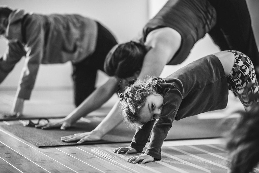 3 Ways To Integrate An At Home Family Yoga Practice Gaiam